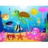 На фото  подводный мир